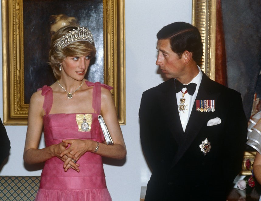 Charles and Princess Diana